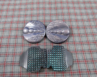 Vintage Two-Part Buckles
