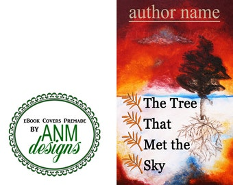 Premade eBook Cover Design 'The Tree that Met the Sky' Non Fiction Book Cover
