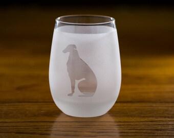 Borzoi Custom Wine Glass Set