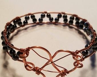 Copper Heart Grey