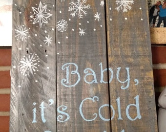 Christmas Pallet Signs