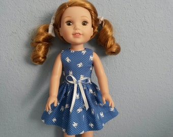 Wellie Wisher Doll Dress