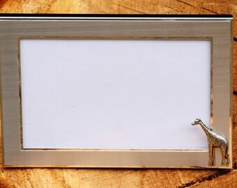 Giraffe Photo Picture Frame Gift Landscape Or Portrait