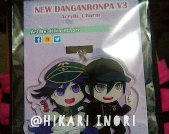 New Danganronpa V3 - Oma & Saihara