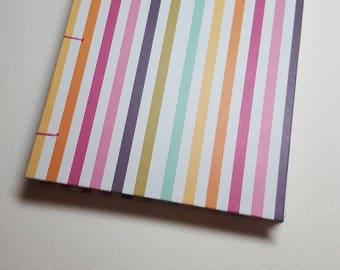 Handmade mini watercolor book
