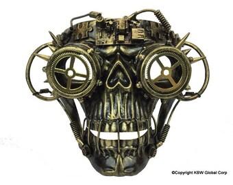 Steampunk Mardi-gras halloween type mask