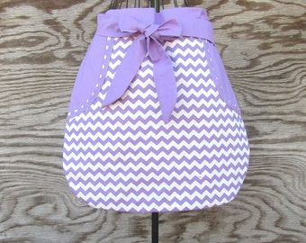 Craft Apron, Cooking Apron, Vendor Apron, Garden Apron, Server Apron, Purple Apron