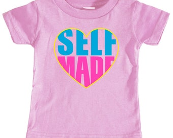Self Made Infant T-shirt (Pink)