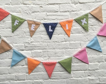 Personalised bunting, Personalized bunting, Name bunting, Baby name, Bunting, Baby boy bunting,Baby girl bunting, Baby shower bunting/banner