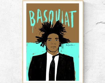Fine Art Decor Jean-Michel Basquiat Art Special print/Pop Art/Andy Warhol/Art for gift/wall art