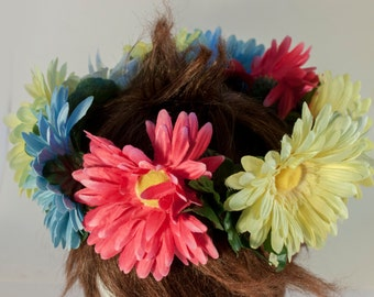 PANSEXUAL Themed Flower Crown (fits most adult sized heads) LGBTQA+
