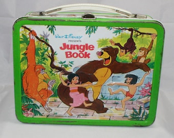 1968 Walt Disney Jungle Book Lunch Box