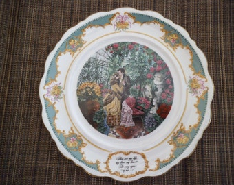 """The Poetry Society, """"Robert Herrick"""" - 1982 Limited Edition Collector Plate"""