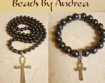 Ankh Collection-Hematite