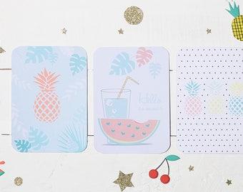 Card post fruity summer Melli Confetti