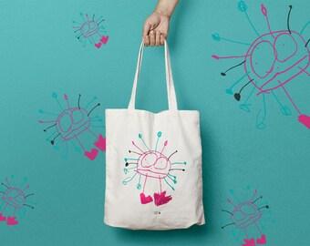 Tote bag pattern mr potato head or cotton bag