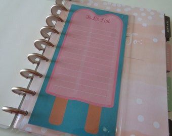 For Use With MAMBI Happy Planner Erin Condren Kitchen To Do List Dashboard Insert
