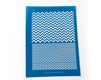 Chevrons PAttern Silk Screen