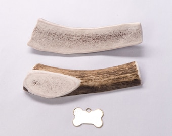 "Medium Split ""Marrow"" Elk Antler Dog Chew"