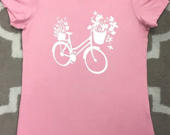 Flower Delivery Bike - Super Soft Tee