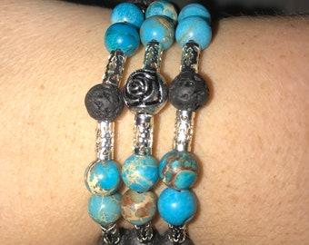 Essential Oil Wrap Around Bracelets