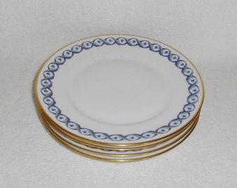 Richard Ginori Italy Elba Pattern Bread Plates ~ Set ... & Richard ginori   Etsy