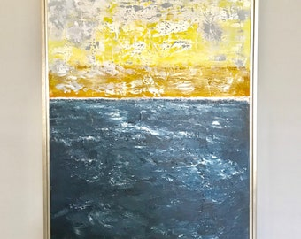 Original Contemporary Abstract Seascape (24x36)