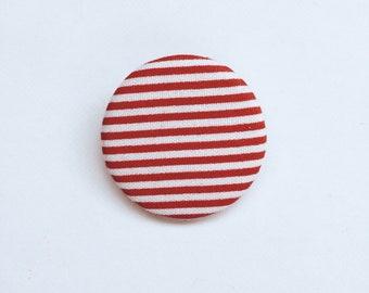 Red sailor pin badge