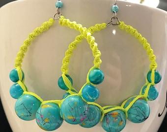 Carnival Large Hoop Earrings Dazzlers w/ Free Shipping