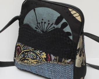 SMALL SHOULDER BAG  by Elizabeth Z Mow  Once in a Blue Moon