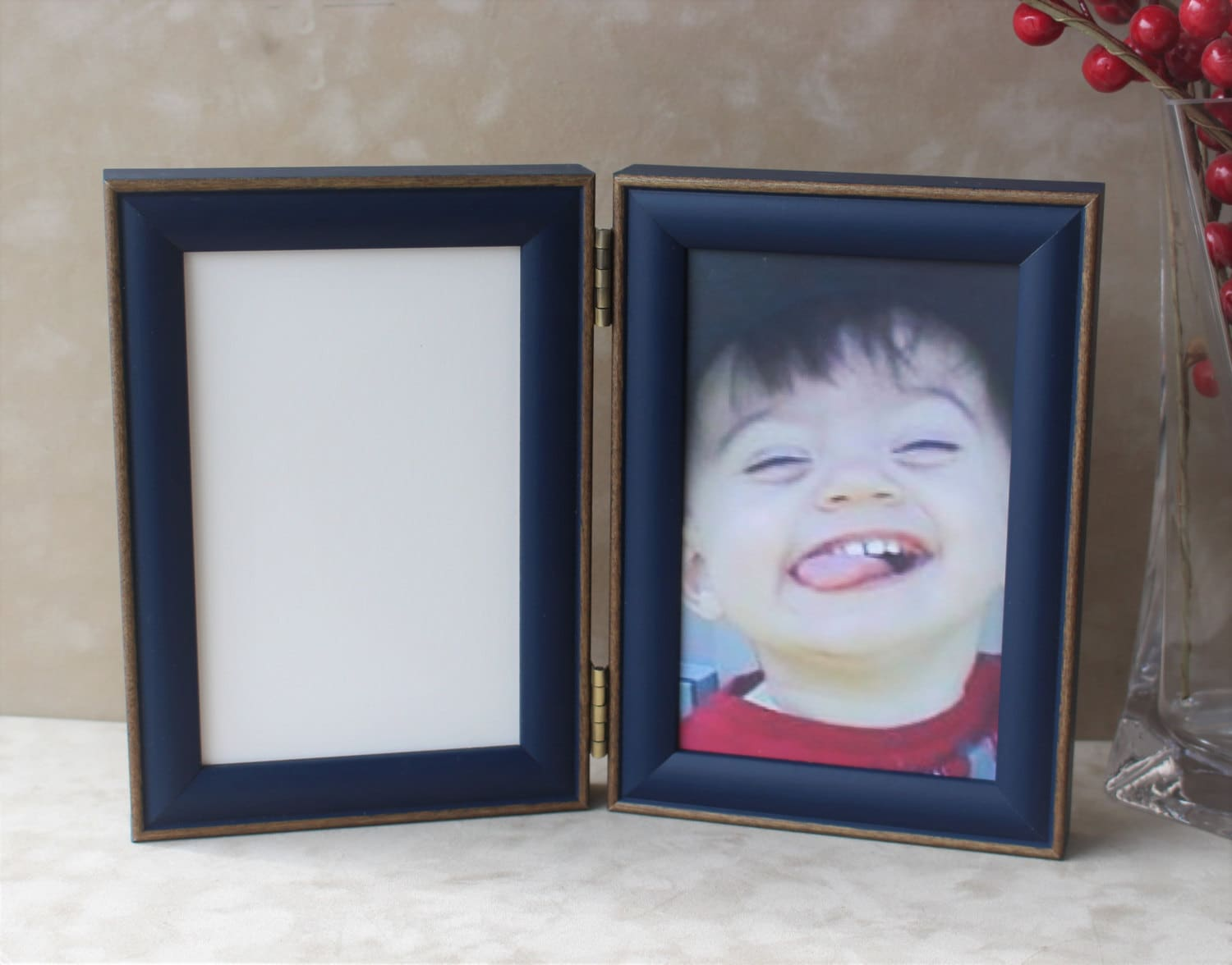 Double Photo Frame, Rainbow Color Selection Frames,Triple Frame ...