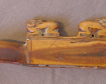 wood hunte'rs whistle from central asia