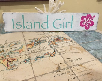 Island Girl Sign