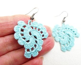 PDF Tutorial Crochet Pattern...Dangle Earrings -20