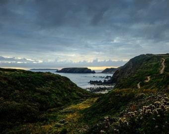The Walk to Marloes Cove, Pembrokeshire // A3 Original Photographic Fine Art print