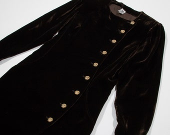 UNGARO - velvet dress