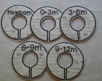 Arrows mini closer divider set