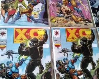 6 back issues valiant comic books/ mint-near mint/valued at 15-35.00 ebay