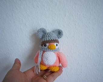 winter penguin crochet pattern