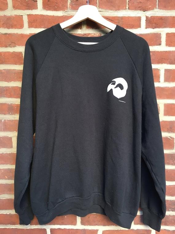 Vintage Phantom of the Opera raglan crewneck sweatshirt 1986 V51s7GNO