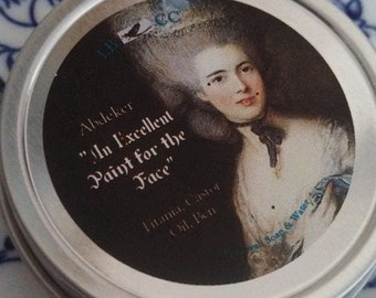 """Historically Inspired 1 oz: 18th Century """" An Excellent Paint For The Face""""  White"""