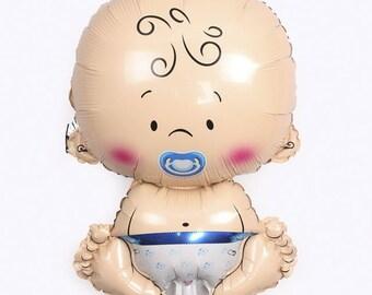Giant Baby Boy Helium Balloon