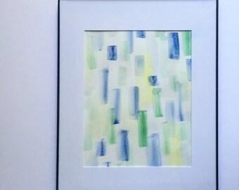 Watercolor Painting // abstract // Original artwork // ready to ship