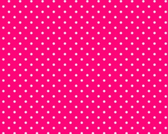 Sunrise Studio Cherry Dot  Cotton Fabric  by Lakehouse Dry Goods LH14029Chry