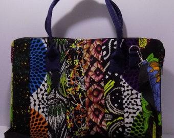 Multi-Patterned African Print Bag