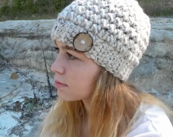 Crochet Pattern Easy Woman's Hat/ Crochet Pattern Easy Women's Hat/ Winter Hat Crochet Pattern/ Crochet Pattern Adult Hat/ Crochet Pattern