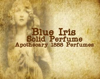 Blue Iris Solid Perfume