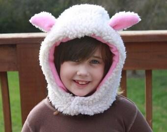 Faux fur sheep/lamb hat