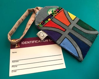 "Bag Tag - Hand painted luggage tag | ""Champions Choice"""