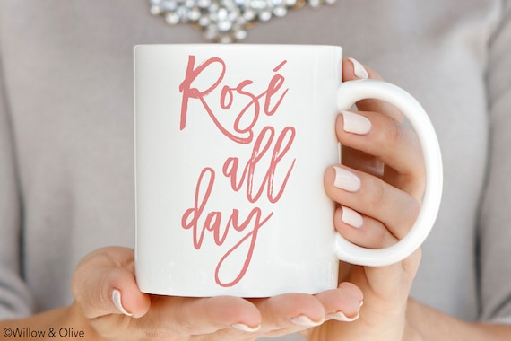 Rose All Day Mug